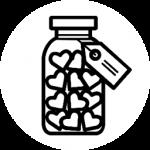 Remplissez vos contenants des aliments de l'épicerie